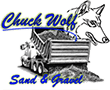 Chuck Wolf Sand and Gravel - Logo