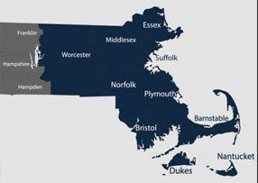 Harris & Murphy LLP - Service Area Map