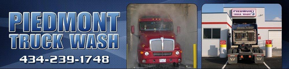 Truck Wash Services - Lynchburg, VA - Piedmont Truck Wash