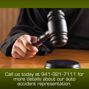 Attorney - Sarasota FL - The Law Office of Joshua H Rosen - Call us today at 941-921-7111 for more details about our auto accident representation.
