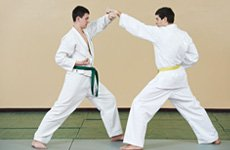 Male sparring sessions