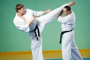 how to block a front kick