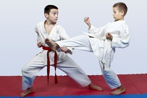children's karate sparring