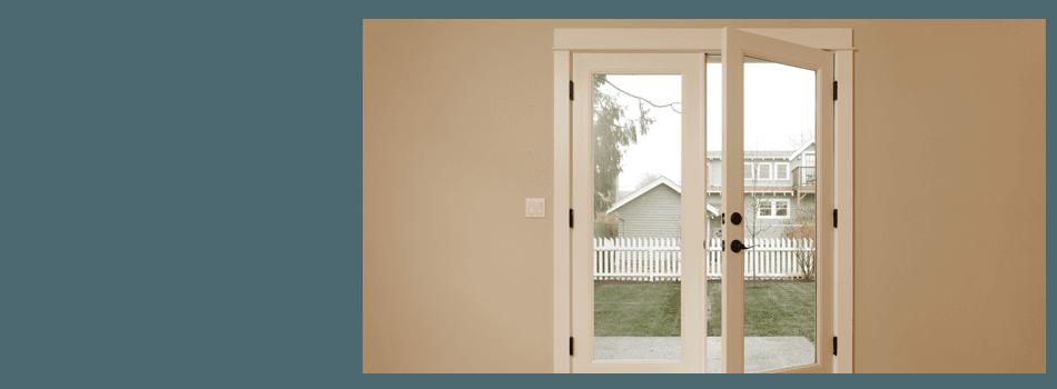 Glass door installation