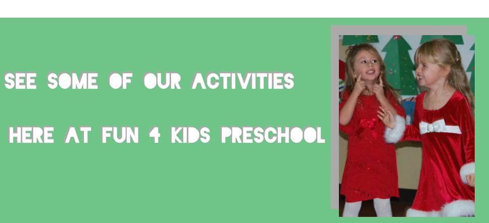 Homework Center   Anaheim, CA   Fun 4 Kids Preschool   714-694-0901