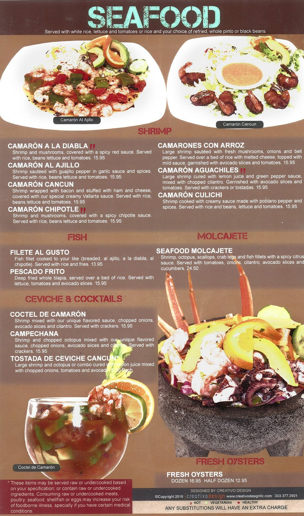 Seafood cancun mexican grill and cantina view menu pdf forumfinder Choice Image