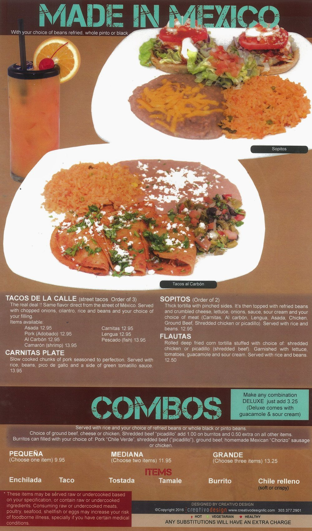 Made in mexico full menu cancun mexican grill and cantina forumfinder Choice Image