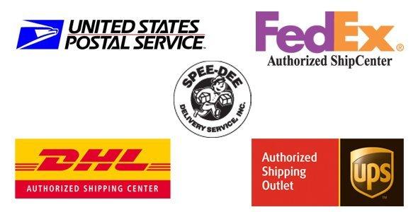 FedEx | UPS | USPS | DHL | Spee-Dee