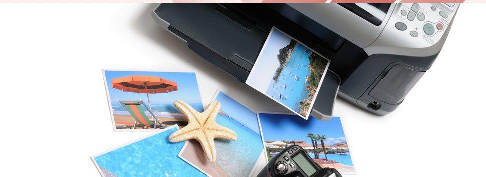 Printer with photos
