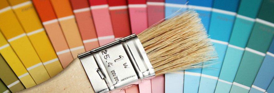 Painting palette colors