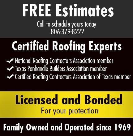 Golden Spread Roofing - Residential and Commercial roofing contractors - Amarillo, TX