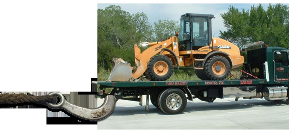 equipment hauling | Waco, TX | Tow King Of Waco | 254-666-5484