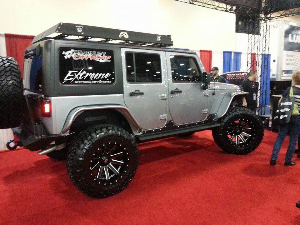 Decked out Jeep