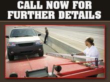 Towing - Kirksville, MO - Byers Towing - towed car - Call Now For Further Details