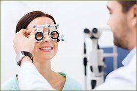 Complete eye treatment