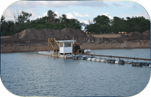 Rock Quarry | Ellinwood, KS | Knop Sand | 620-564-3166