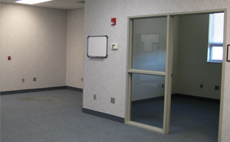 Inside shot of an commercial rental