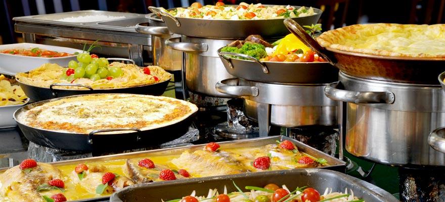 Шведский стол ассортимент блюд
