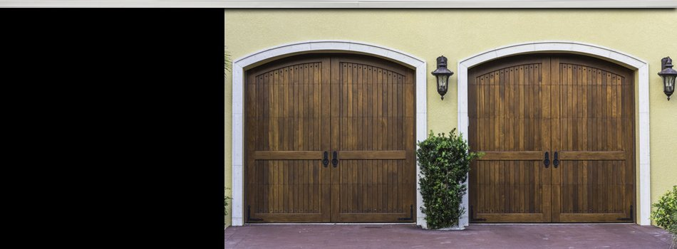 Well made carriage house doors