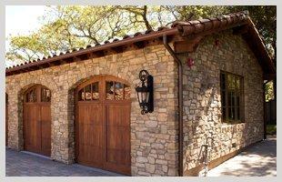 Elegant carriage house doors