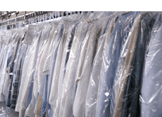 Uniforms and other clothes dry cleaning