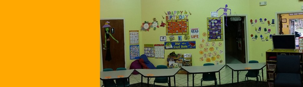 Classroom at A + Learning Center