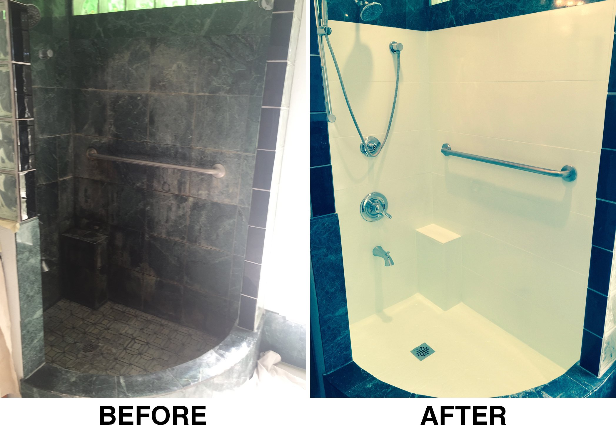 Bathtub and shower refinishing