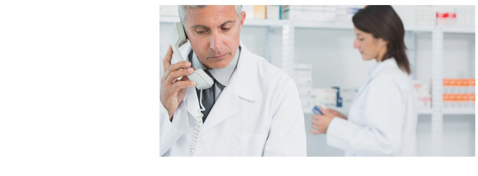 Doctor calling on a phone