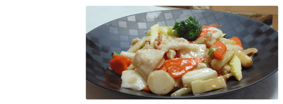 Moo Goo Gai Pan | Parker, CO | August Moon Asian Grill & Bar | 303-841-4598