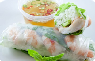 Vietnamese Crystal Roll | Parker, CO | August Moon Asian Grill & Bar | 303-841-4598
