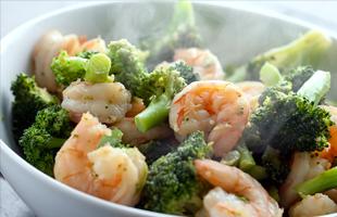 Broccoli Shrimp   Parker, CO   August Moon Asian Grill & Bar   303-841-4598