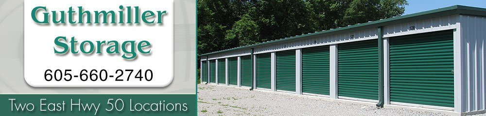 Storage Units Yankton, SD - Guthmiller Storage 605-660-2740
