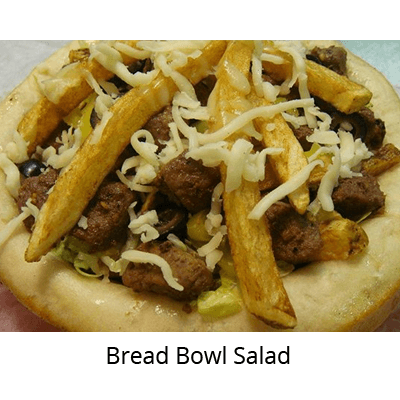 Bread Bowl Salad