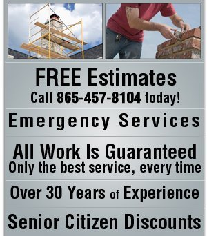 Chimney and Roof Repairs - Clinton, TN - Chimney Doctor