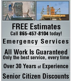 Chimney and Fireplace Construction - Clinton, TN - Chimney Doctor