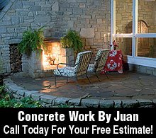 Concrete Contractor - Rosenberg, TX - Concrete Work By Juan