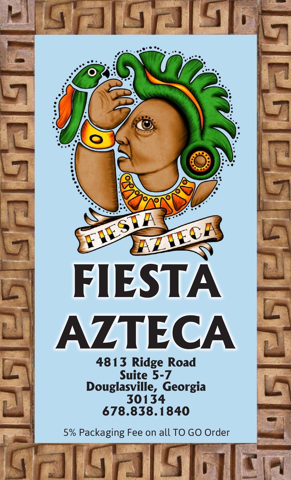 Menu | Douglasville, GA | Fiesta Azteca | 678-838-1840