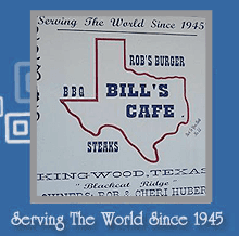 Diner - Kingwood, TX - Bill's Cafe