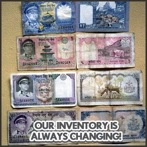 Collectibles - Bolivar, TN - Statewide Pawn Shop - money bills - Our Inventory Is Always Changing!
