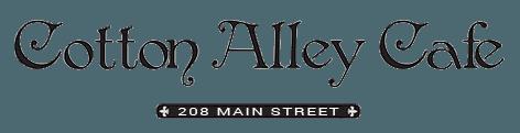 COTTON ALLEY CAFÉ - Logo
