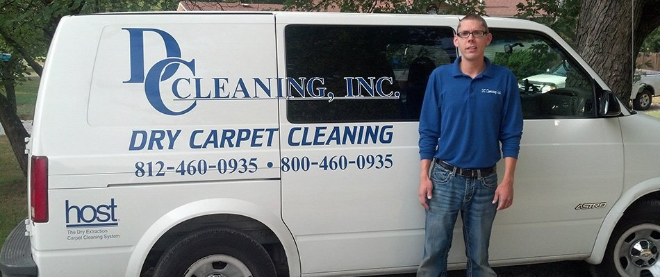 Dry Carpet Cleaning | Terre Haute, IN | DC Cleaning Inc | 812-460-0935