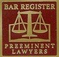 Bar Register Preeminent Lawyers-Logo