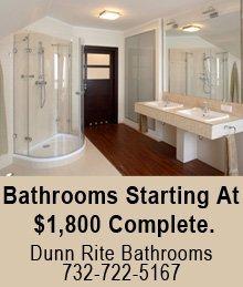 Bathroom Remodeling - Wall Township, NJ - Dunn Rite Bathrooms