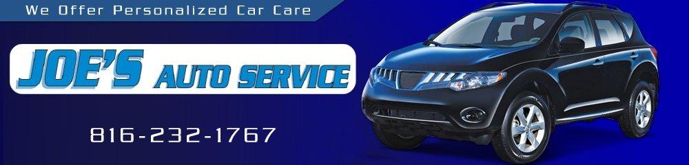 Auto Repair - St. Joseph, MO - Joe's Tire & Auto Service