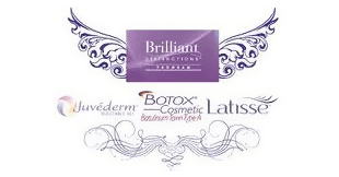 Brilliant, Juvéderm, Botox Cosmetic, Latisse