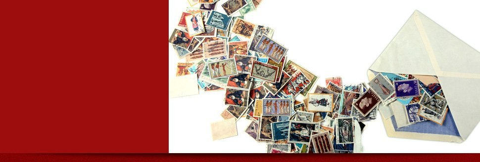 Collection of stamps