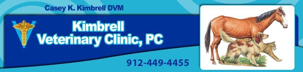 Veterinary Clinic - Blackshear, GA - Kimbrell Veterinary Clinic, PC