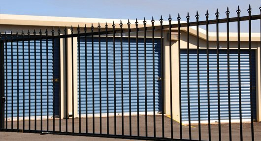 Attractive Safe And Secure Storage Units And Outdoor Storage Facility