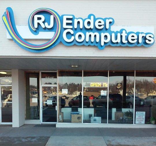 RJ Ender Computer Store Front