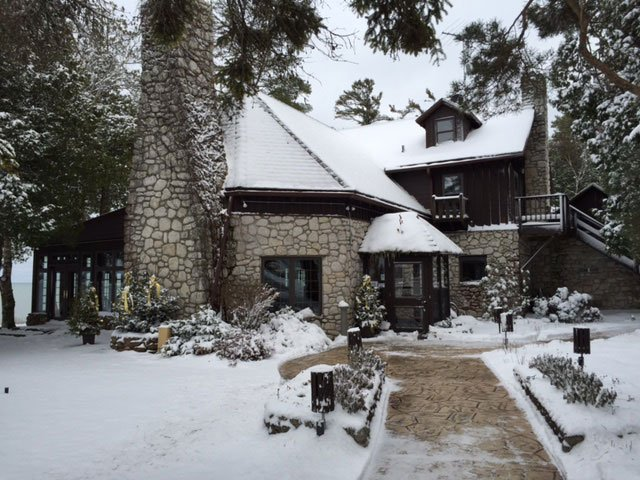 Snowfall house
